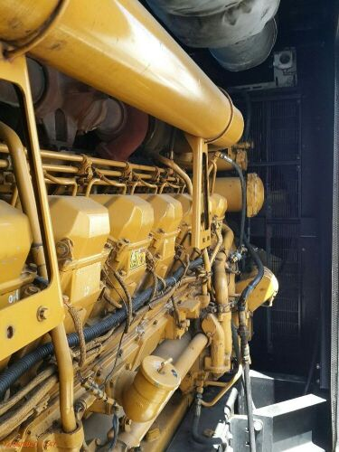 Used - 2012 Caterpillar 3516 B Sound Proof 2000 KVA - 0YAT00744 (Depo Surabaya - Gresik, Jawa )