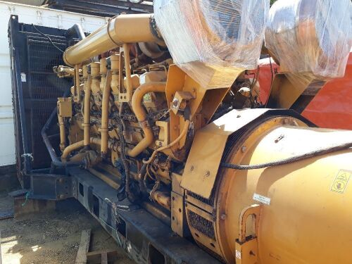 Used - 2012 Caterpillar 3516 B Open Type 2000 KVA - 0YAT00797 (Depo Balikpapan, Kalimantan )