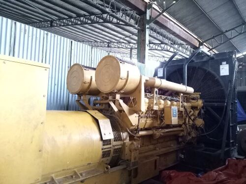 Used - 2000 Caterpillar 3516 B Open Type 2000 KVA - 07RN01507 (Pontianak, Kalimantan )