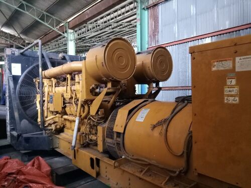 Used - 2001 Caterpillar 3516 B Open Type 2000 KVA - 07RN01814 (Pontianak, Kalimantan )