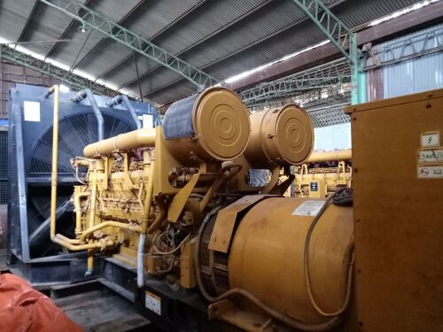 Used - 1999 Caterpillar 3516 B Open Type 2000 KVA - 08NW00209 (Pontianak, Kalimantan )