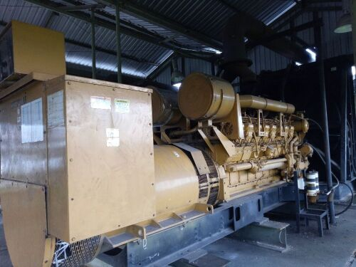 Used - 2001 Caterpillar 3516 B Open Type 2000 KVA - 0FDN00692 (Pontianak, Kalimantan )