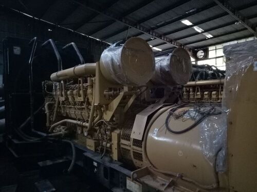 Used - 2002 Caterpillar 3516 B Open Type 2000 KVA - 0FDN00778 (Pontianak, Kalimantan )