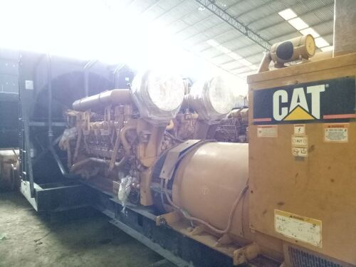 Used - 2003 Caterpillar 3516 B Open Type 2000 KVA - 0FDN01282 (Pontianak, Kalimantan )