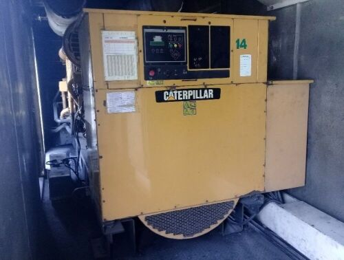 Used - 2012 Caterpillar 3516 B Sound Proof 2000 KVA - 0YAT00805 (Ni'u Bima, Nusa Tenggara Barat )