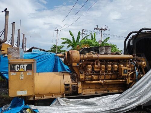 Used - 2003 Caterpillar 3516 B Open Type 2000 KVA - 0FDN01280 (Timika, Papua )