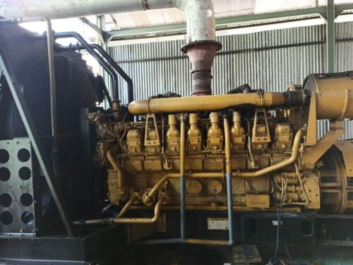 Used - 2001 Caterpillar 3516 B Open Type 2000 KVA - 0FDN00646 (Langgur - Tual, Maluku )