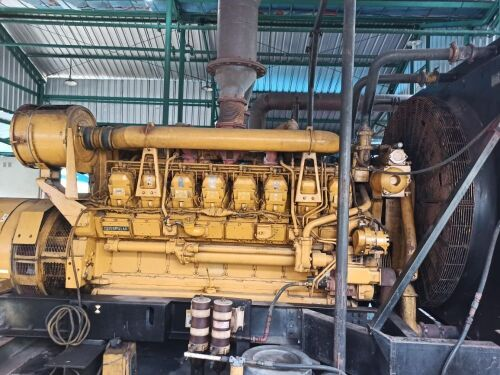 Used - 2002 Caterpillar 3516 B Open Type 2000 KVA - 0FDN00774 (Langgur - Tual, Maluku )
