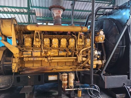 Used - 2002 Caterpillar 3516 B Open Type 2000 KVA - 0FDN00790 (Langgur - Tual, Maluku )