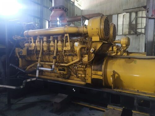 Used - 2010 Caterpillar 3516 B Open Type 2000 KVA - 0YAT00235 (Yarmok, Papua )