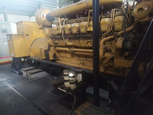 Used - 2012 Caterpillar 3516 B Open Type 2000 KVA - 0YAT00799 (Yarmok, Papua )