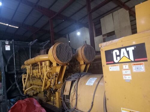Used - 2005 Caterpillar 3516 B Open Type 2000 KVA - 0GZS00261 (Pontianak, Kalimantan )